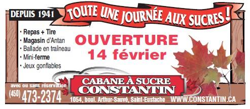 ouverture Cabane à sucre 2014