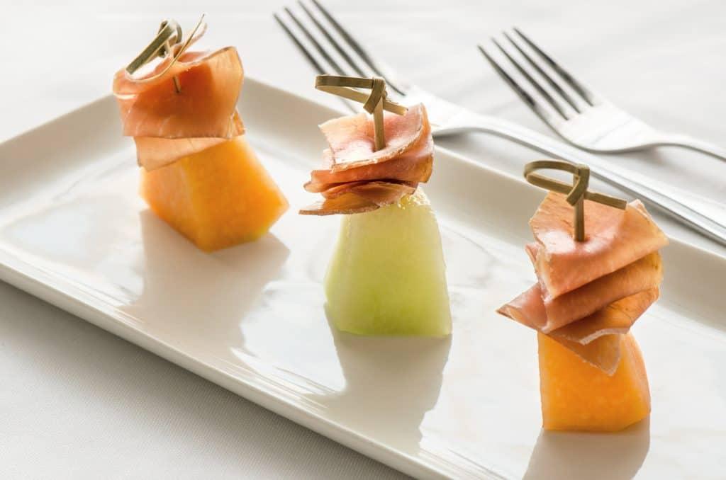 Prosciutto melon
