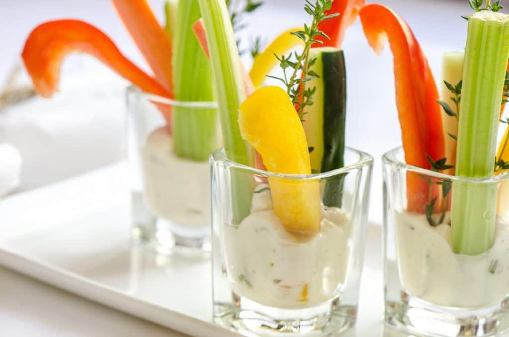 Trempette de légumes