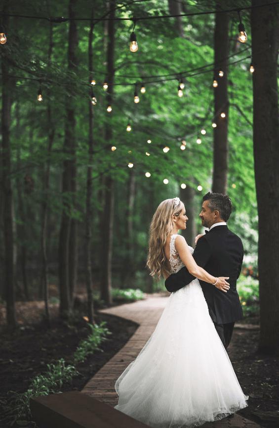 Mariage dans un boisé
