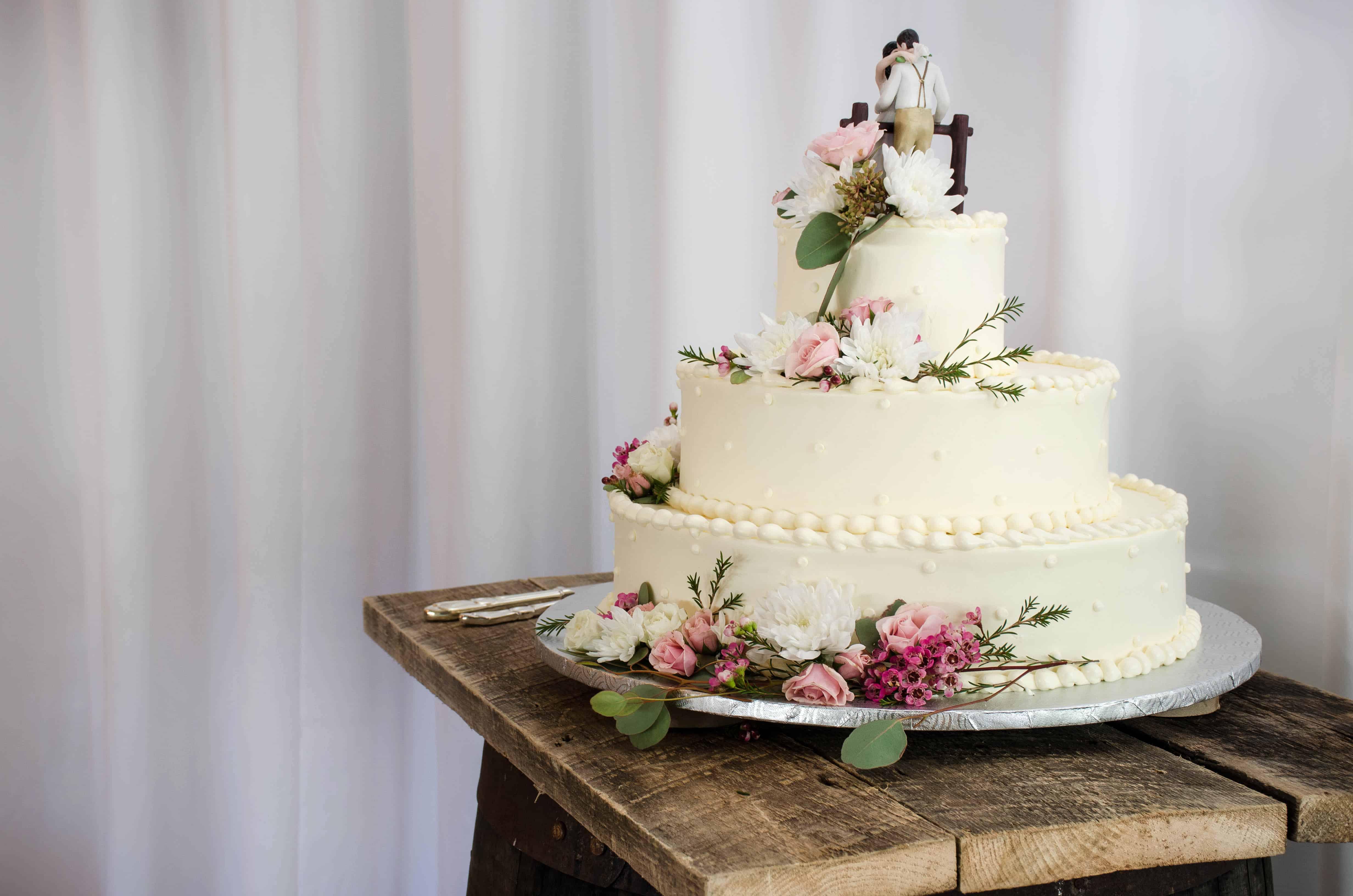 Participez à La Conception De Votre Gâteau De Mariage Sur Mesure