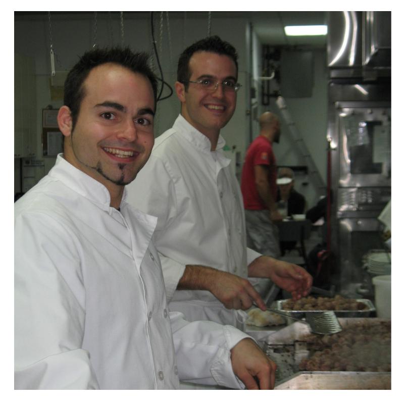 Équipe Cuisine Production Produits D'antan