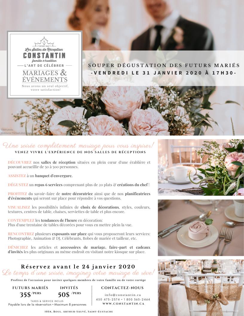 Invitation Souper Mariés 2020