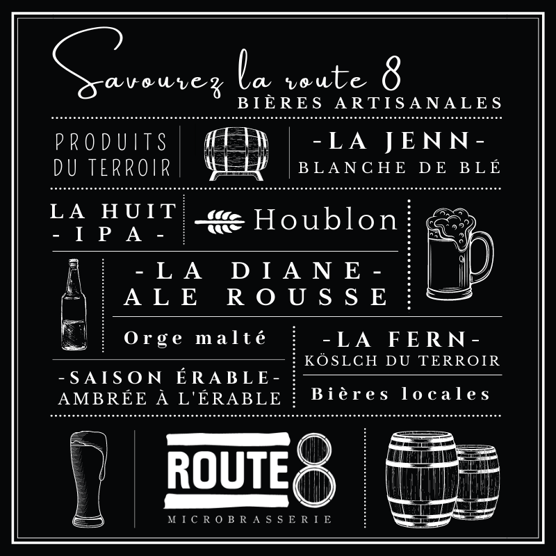 Savourez La Route 8